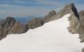 Snow field on Threefinger Mt
